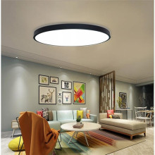лучшая цена Black/White Modern Led Ceiling Lights For Living Room Bedroom AC85-265V Indoor lighting Ceiling Lamp Fixture luminaria teto