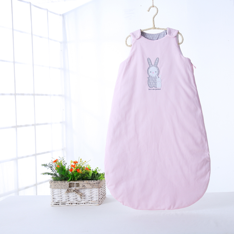 Baby newborn sleeveless baby boy & girls sleeping bags soft kids winter warm thick cotton kick quilt sleeping bag long zipper infant baby sleeping bag baby blankets quilt thick natural cotton sleeping bag detachable sleeves newborn swaddling clothes