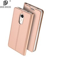 Dux Ducis Flip Leather Case For Xiaomi Redmi Note 4X Case Wallet Phone Cover For Xiomi