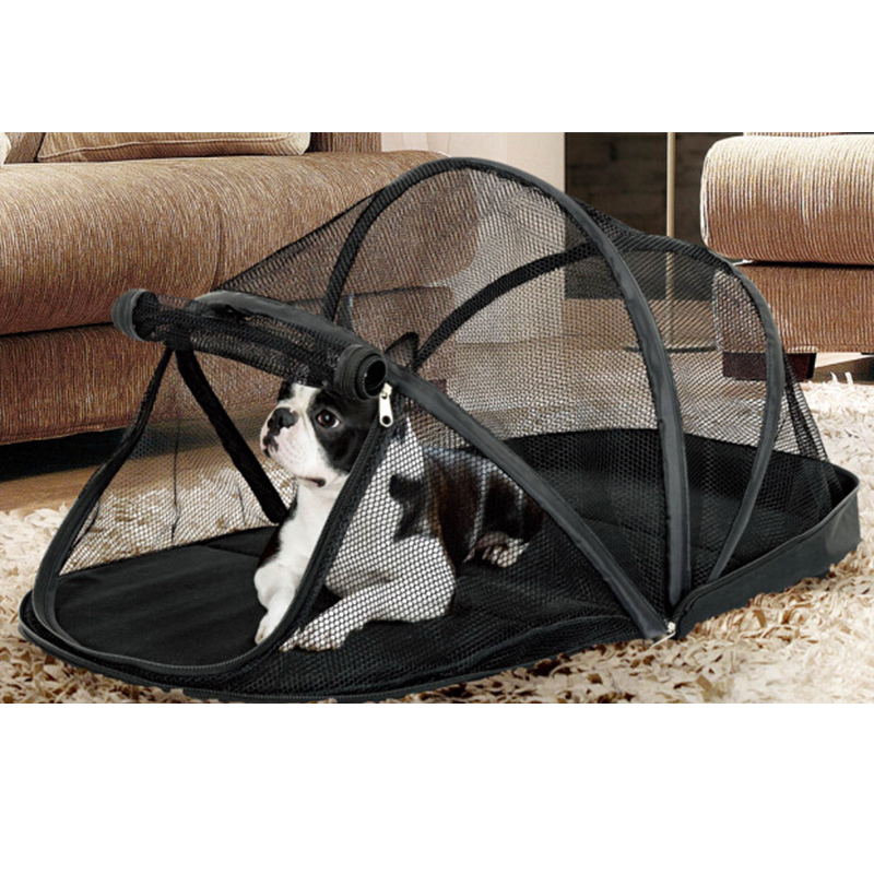 Aliexpress Com Buy Portable Dog Cat Pet Puppy Drinker: Portable Dog House Cage For Small Dogs Crate Cat Net Tent