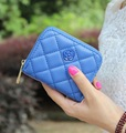 New Arrival Korean Style Simple Flower Women Wallet Classic Quilted Embroidered Mini Wallet For Lady Mini PU Leather Coin Purse