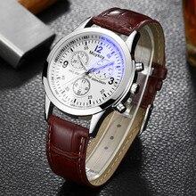 NEW Luxury Brand Fashion Bracelet Military Quartz Watch Men