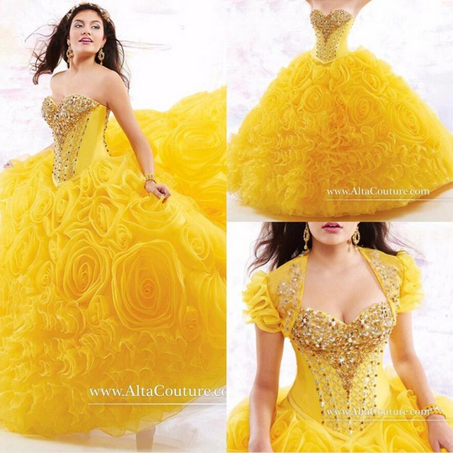 New Arrival Cheap Quinceanera Dresses With Jacket Sweetheart ...
