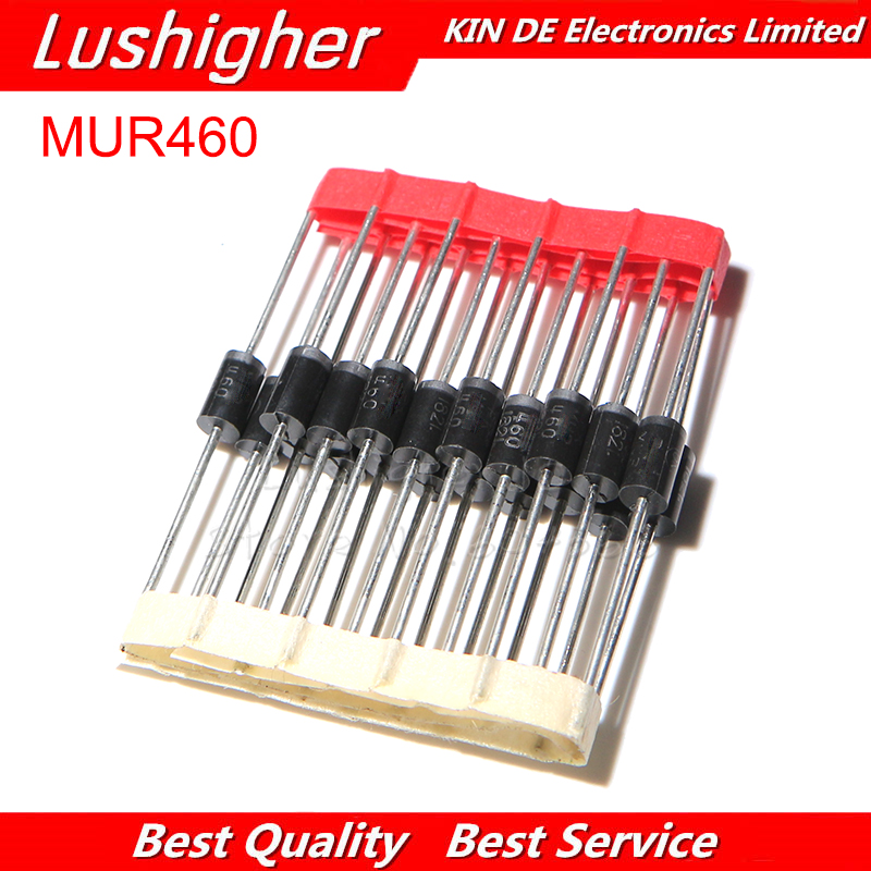 Image 1 - 20pcs MUR460R DO 201 4A 600V Line Recovery Type Diode MUR460-in Integrated Circuits from Electronic Components & Supplies