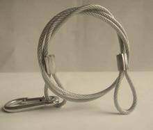 10x Лот Раша свет этапа secruity кабель Детская безопасность веревочки нагрузки Вес 25 кг для сцены led перемещение головы луч света 4 мм * 70 см свет кабель