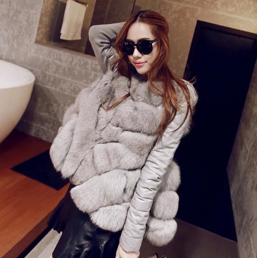 La De Manteau D'hiver Plus En Outwear Fourrure Femmes Chaud Faux 2019 Femme Fausse Moelleux Veste Z85 Taille Hiver 7BqwRx8