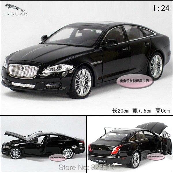 1 24 Jaguar Xj Alloy Diecast Vehicle Car Model Collection Toy Black