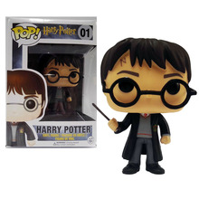 New Funko POP Harry Potter 01# Hot Movies Figure Model Toys PVC 10cm Collection gift In stock Free shipping(China (Mainland))