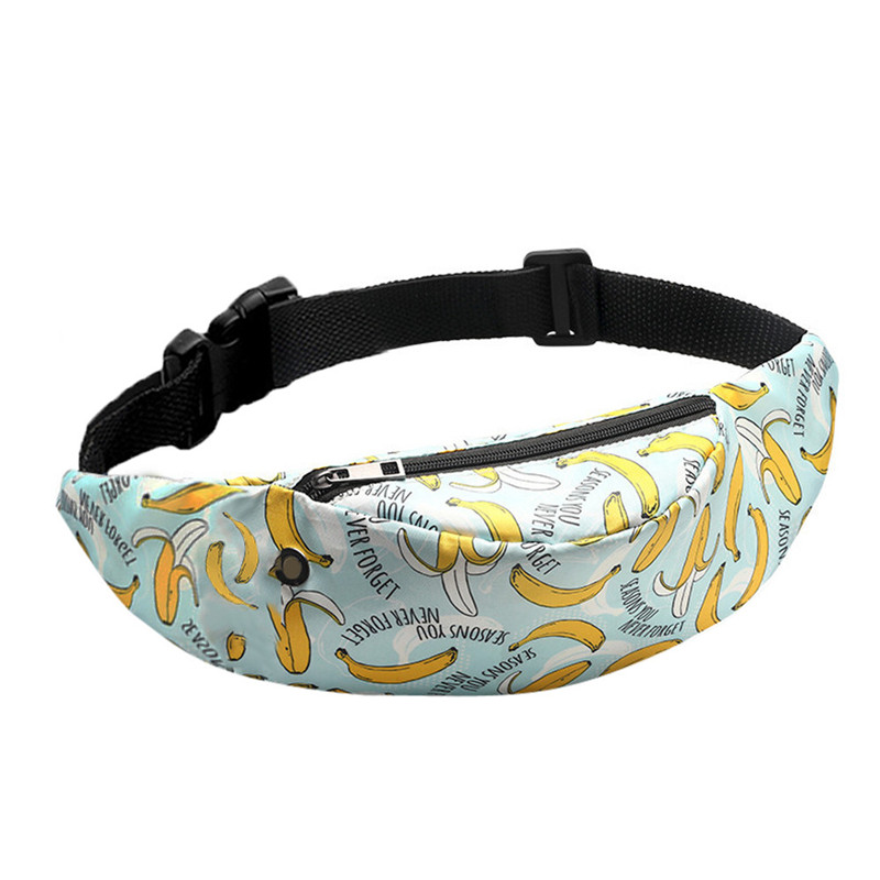 Belt Waist Packs Fanny Bag 3D Colorful Print Women Bags Girls Hip Money Travelling Mountaineering Mobile Phone A30