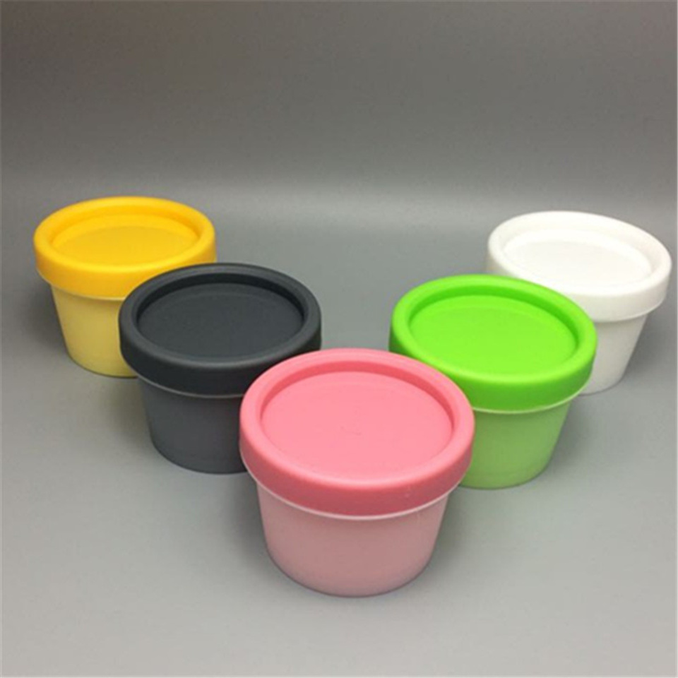 Free Shipping 50pcs 50g plastic mask cream jars 50 g powder bottles 50ml gel packaging containers