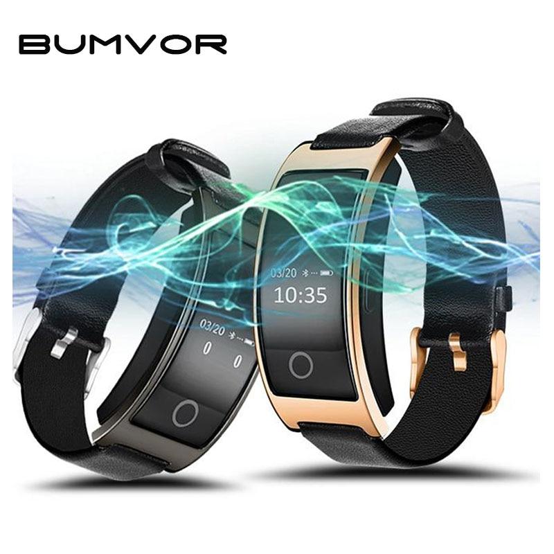 BUMVOR Women CK11S Wristband Blood Pressure Watch Blood Oxygen Heart Rate Monitor Smart Bracelet Pedometer Waterproof Smartband