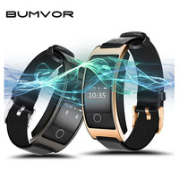 BUMVOR Women CK11S Wristband Blood Pressure Watch Blood Oxygen Heart Rate Monitor Smart Bracelet Pedometer Waterproof Smartband