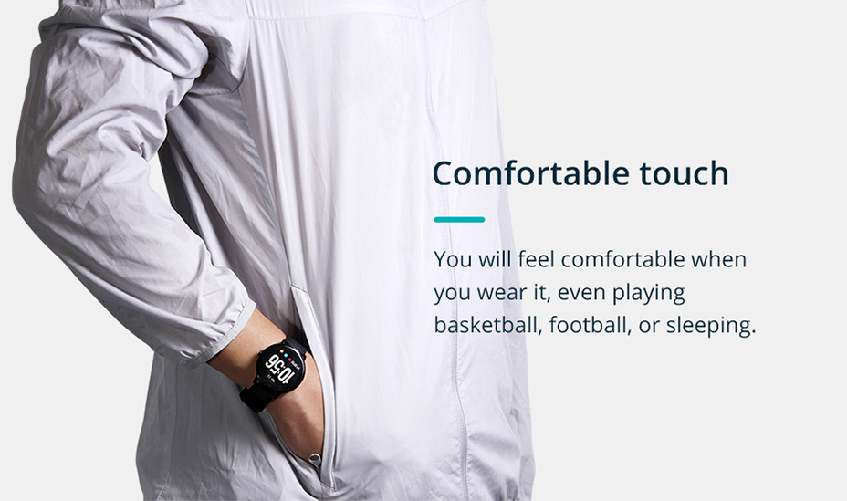 COLMI V11 Smart watch IP67 waterproof Tempered glass Activity Fitness tracker Heart rate monitor BRIM Men women smartwatch 2