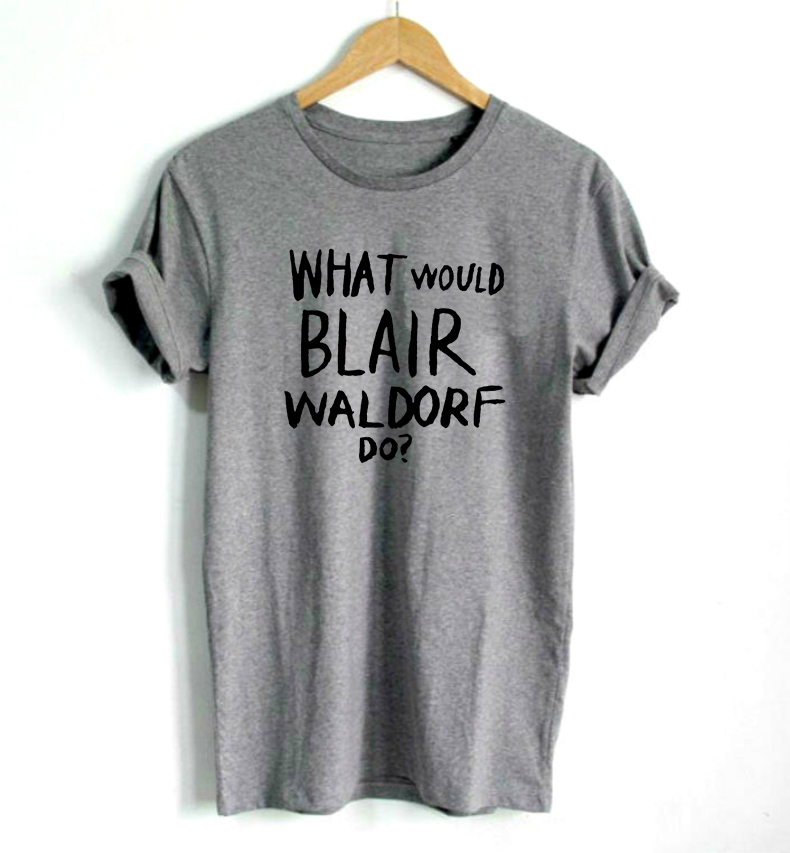 What Would Blair Waldorf Do Print Women Tshirt