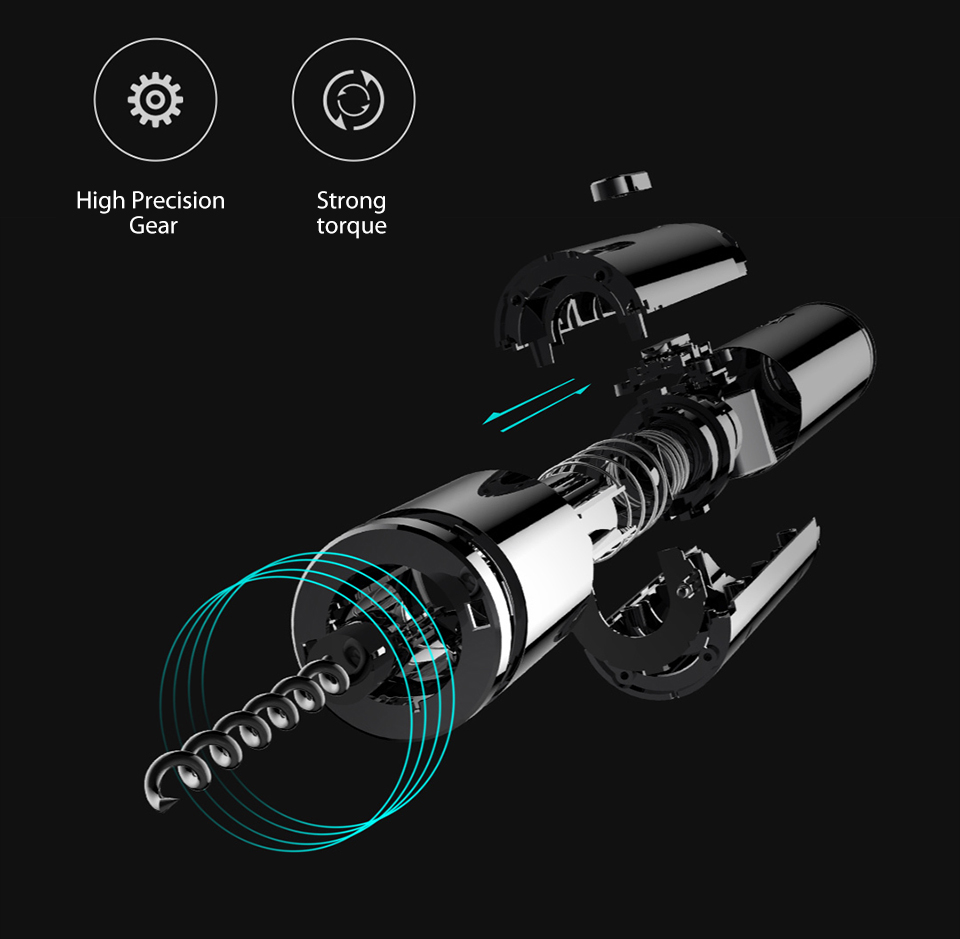 Xiaomi HUOHOU Electric Automatic Wine Bottle O p e n e r (4)