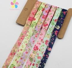 6yards lot 3 8 10mm mixed 6 colors printed grosgrain ribbon packing tape diy hair bow.jpg 250x250