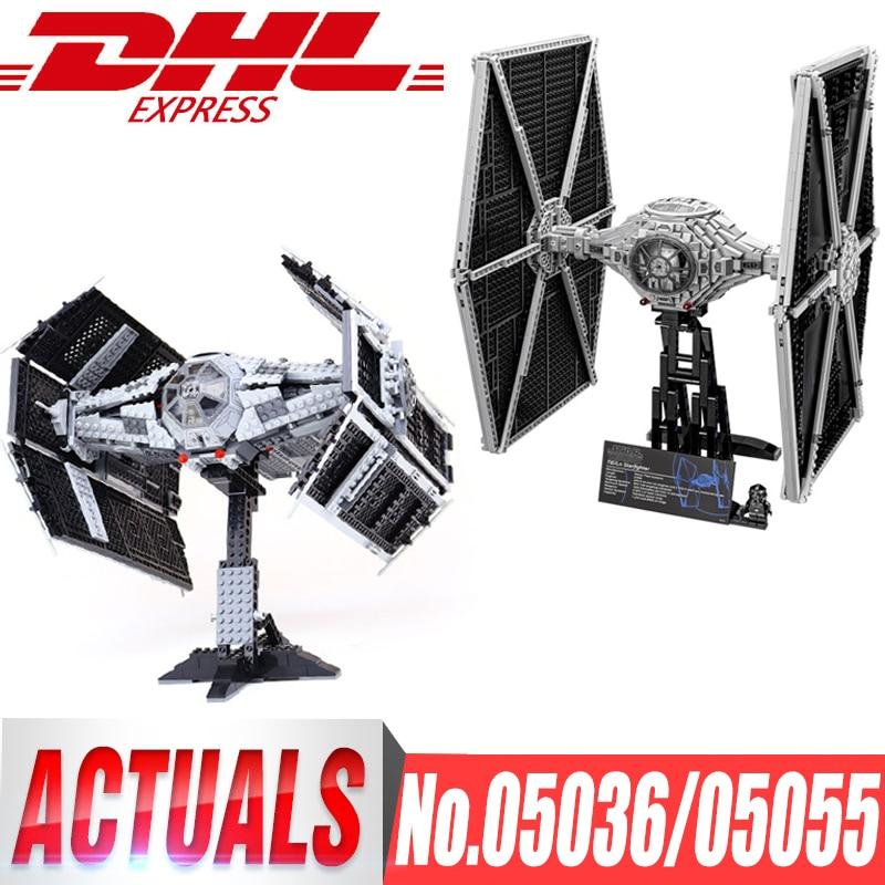 STAR WARS The Rogue One USC Vader's TIE Advanced Fighter 05055 05036 Tie Fighter blocs briques compatibles legoingls 75095 10175