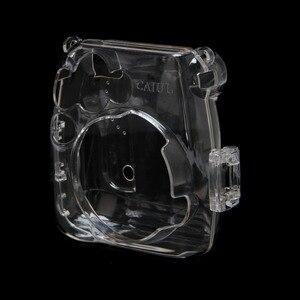 Image 4 - 透明カメラプラスチックシェルケースカバーバッグフジフイルムインスタックスミニ 8