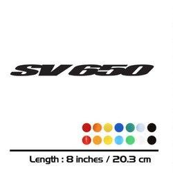 2 X New Sales motorcycle bike Fuel tank Wheels Fairing notebook Luggage helmet MOTO Sticker decals For  SUZUKI SV650