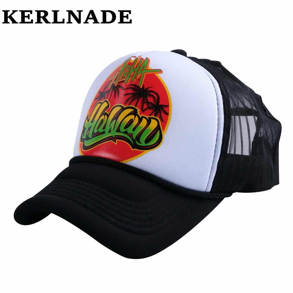 7c52f6a5 Snapback mesh baseball cap outdoor summer boy girls sports hat trucker cap  men net golf caps