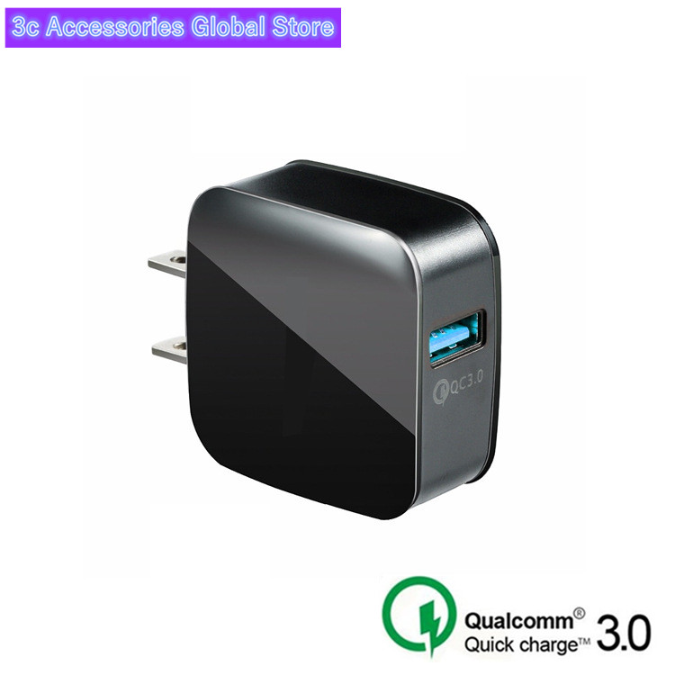 USB Charger 5V 9V 12V Quick Charge QC 3.0 Fast Charging Mobile Phone 18W Portable Wall Charger Adapter For Iphone Samsung Xiaomi