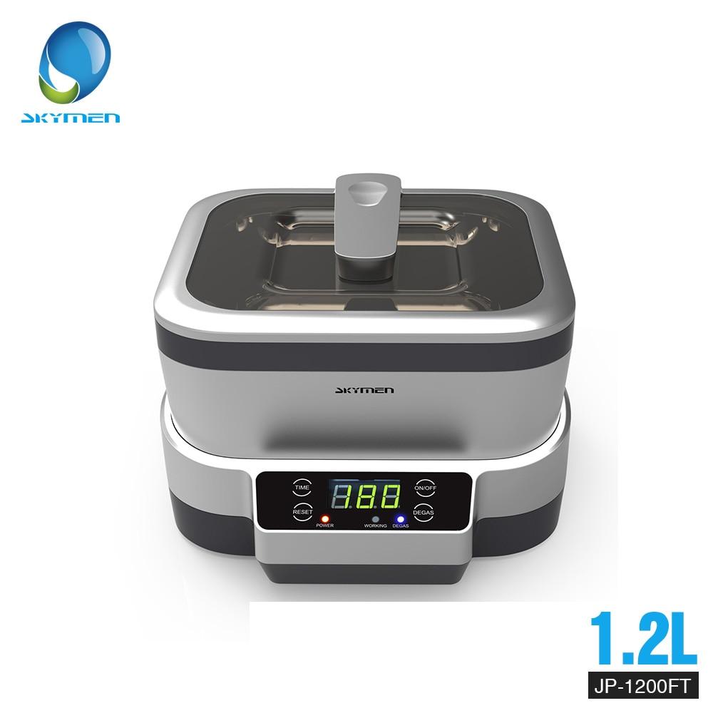 Digital Ultrasonic Cleaner Baskets Jewelry Watches Dental 1 2L 70W 40kHz 220V 110V Cleaner Bath Ultrasound