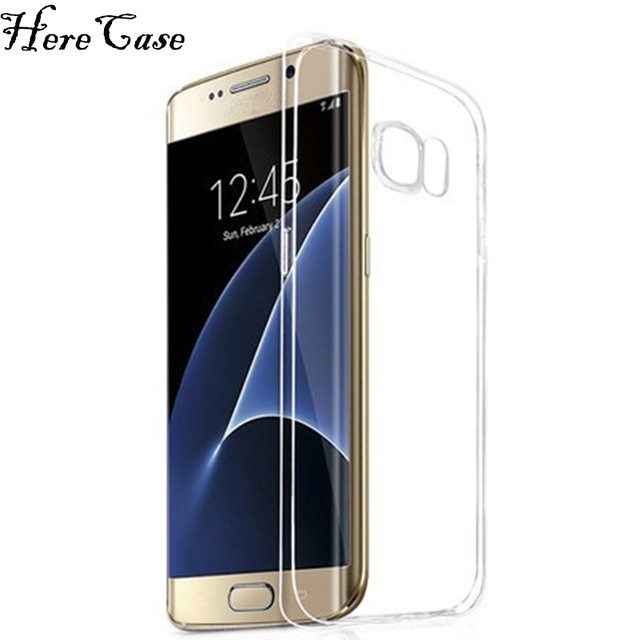 Health Thin Transparent Clear Case For Note8 Soft Rubber Silicon TPU Coque Samsung Galaxy S8