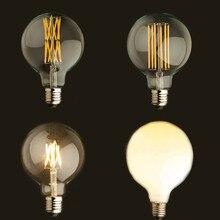 Здесь можно купить   Vintage LED Filament Light Bulb,Edison G125 Style, Golden Tint Milk,Frosted.6W,8W,16W,2200K(Supper Warm),110V 220VAC,Dimmable Lighting Bulbs & Tubes