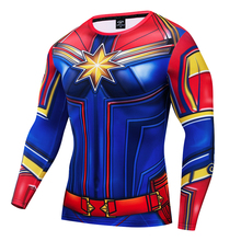 Iron man 3D printed long sleeve tshirt Funny Marvel Avenger Cosplay Performance Suit Soft Casual GYM Absorbing Tight Sweatshirt
