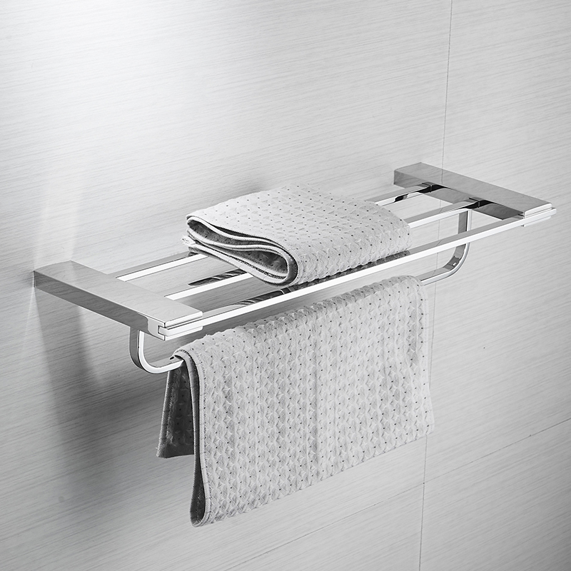 AUSWIND Modern silver polish/brush 304 stainless steel bathroom towel rack length 60cm wall mount bathroom hardware as3 304 stainless steel bathroom towel rack bar hangers more