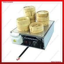 KA500D-4 Мини электрическая китайская булочка пароварка с 4 выходами пара