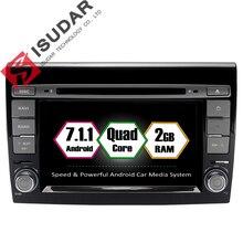 Android 7.1.1 2 Din 7 Pouce Lecteur DVD de Voiture Pour Fiat/Bravo 2007 2008 2009 2010 2011 2012 CANBUS 2 GB RAM Wifi GPS Navigation Radio