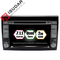 Android 7 1 1 2 Din 7 Inch Car DVD Player For Fiat Bravo 2007 2008