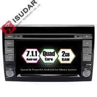 Isudar Car Multimedia Player Android 7 1 1 GPS 2 Din Autoradio For Fiat Bravo 2007