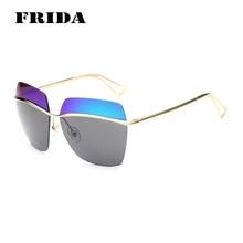 2016 мода полуободковые солнцезащитные очки женщины мужчины дизайн бренда солнцезащитные очки мужская винтаж солнцезащитных очков роскошные качества Gafas óculos De Sol