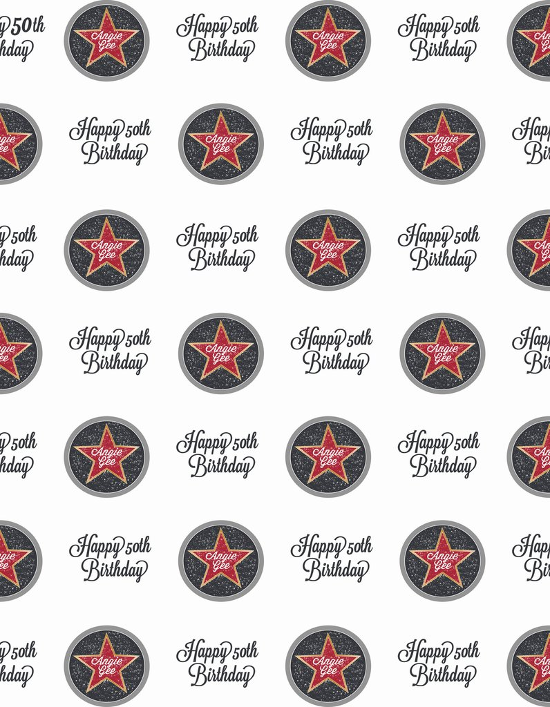 custom star Baby Shower <font><b>happy</b></font> <font><b>50th</b></font> <font><b>Birthday</b></font> photo <font><b>backdrop</b></font> High quality Computer print party backgrounds image