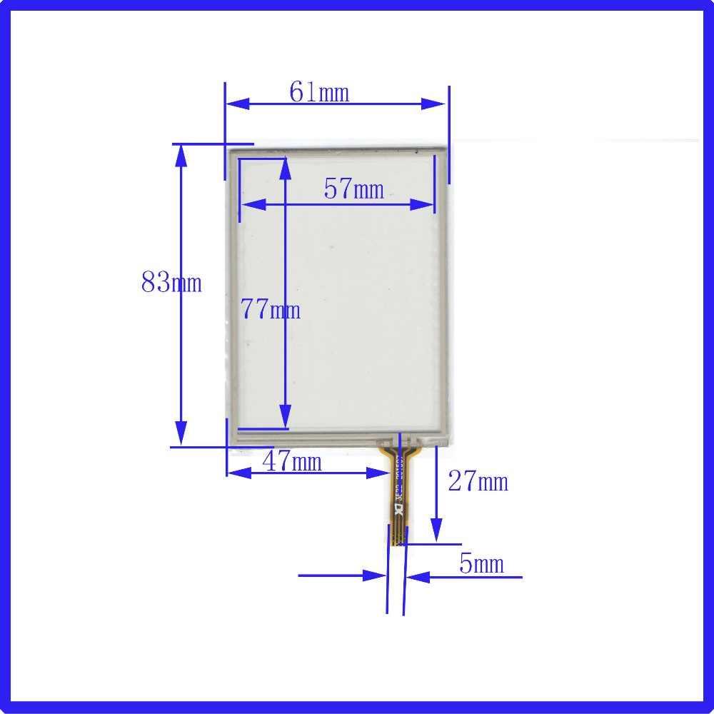 Zhiyusun 3522 пост 3.5 дюймов 4-провода 83*61 Совместимость навигатор с сенсорным экраном 83 мм * 61 мм для GPS MP3 MP4 MP5 и КПК