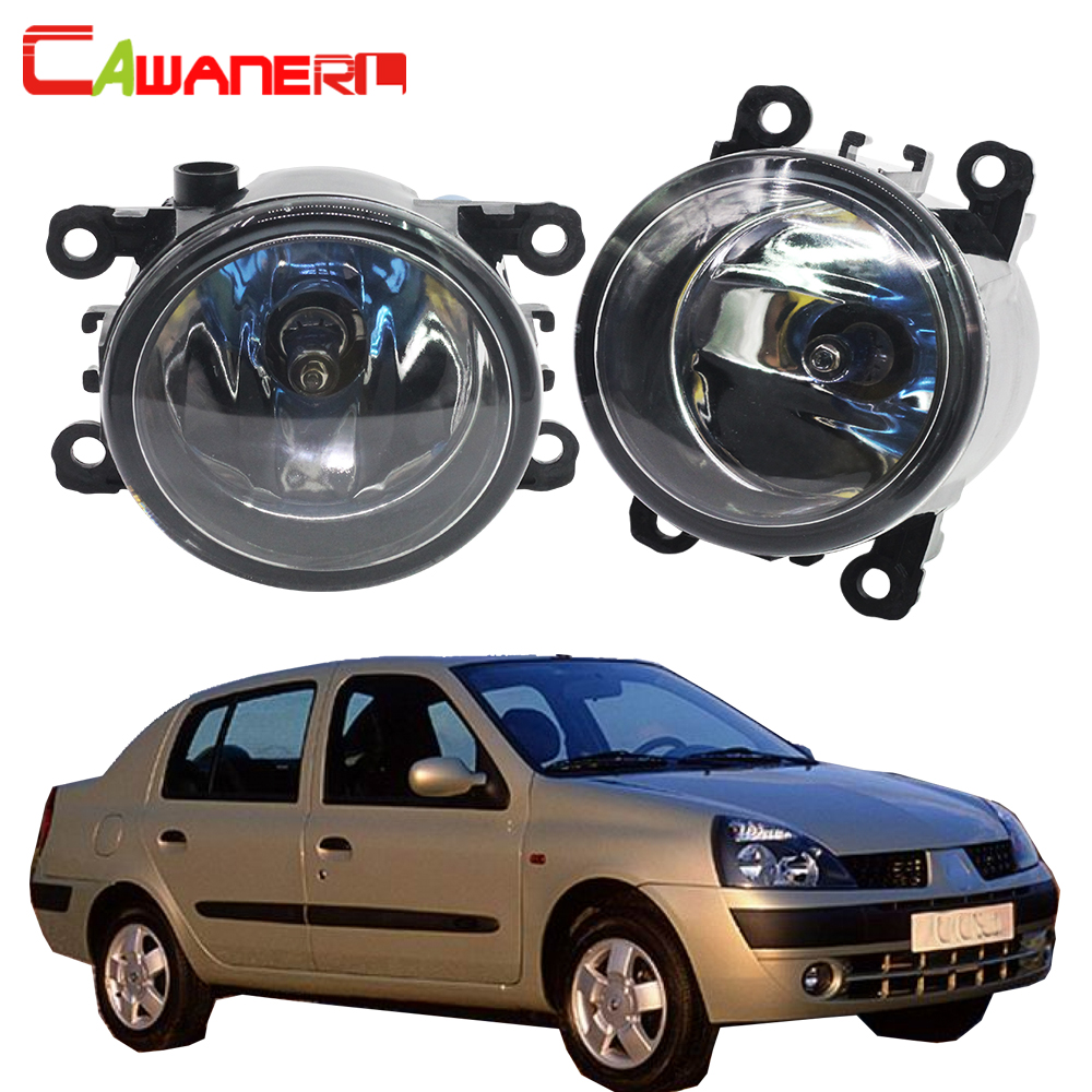 Cawanerl For Renault Thalia 1998-2015 100W H11 Car Styling Halogen Fog Light Daytime Running Lamp DRL 12V 2 Pieces