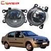 Cawanerl For Renault Thalia 1998 2015 100W H11 Car Styling Halogen Fog Light Daytime Running Lamp
