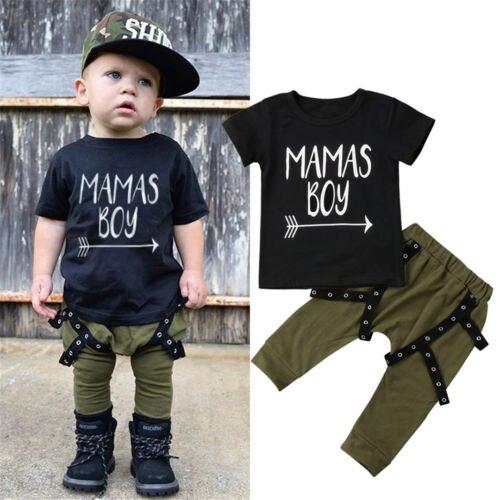 8f14b9adcac1 Aliexpress.com   Buy Toddler Kid Baby MAMAS BOY Print Cotton Short ...