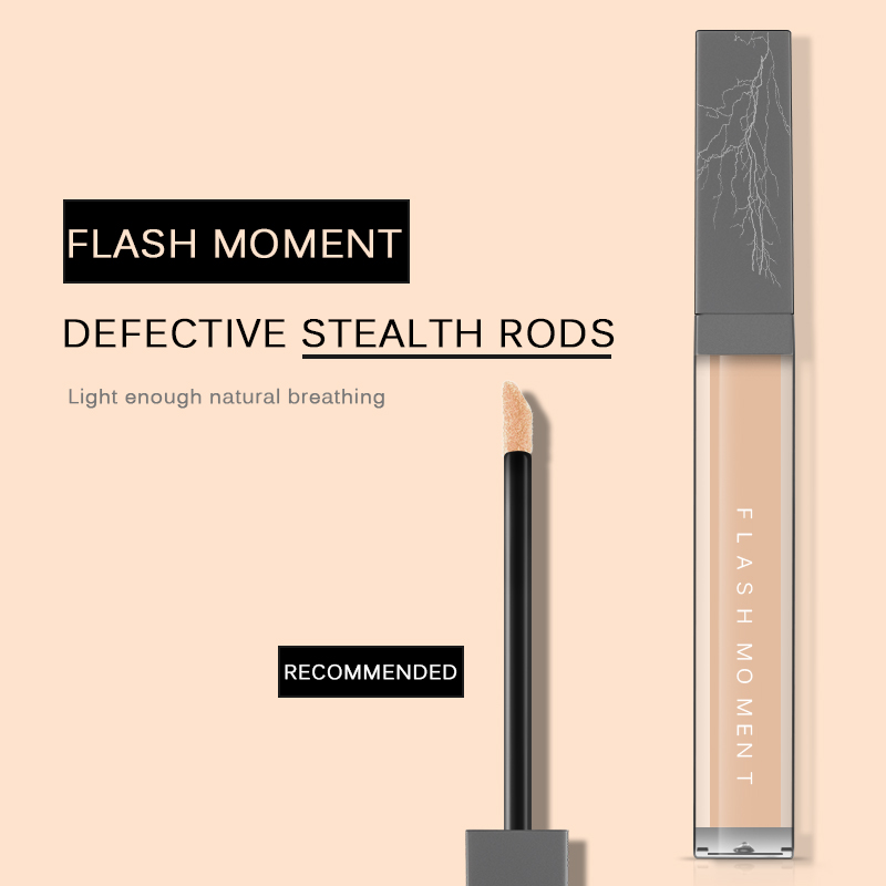 FlashMoment Liquid Foundation Silky Concealer Face Waterproof Make Up Base Cosmetic Concealer Makeup Eye Dark Circles Cream in Concealer from Beauty Health