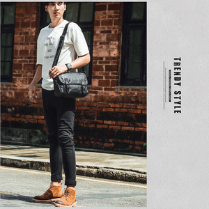 Image 5 - Zebella Simple Famous Brand Business Men Briefcase Bag Luxury PU Leather Black Laptop Bag Man Shoulder Crossbody Bag Bolsa Malet