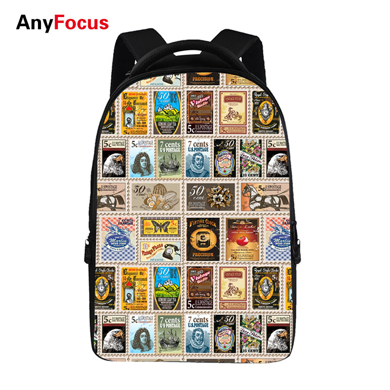 Pretty rules pattern Backpacks For Teens Computer Bag Fashion School Bags For Primary Schoolbags Fashion Backpack Best Book Bag