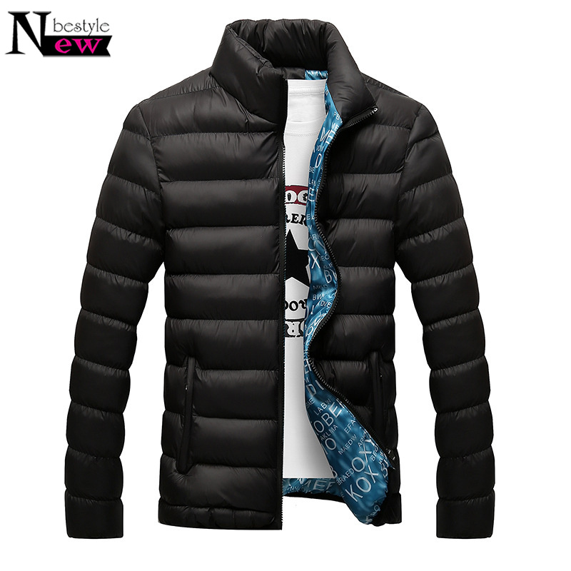 Newbestyle 2019 Mens Jacket New Autumn Winter   Parka   Jacket Hot Sale Men Fashion Coats Casual Outwear Windbreak Warm Jackets Gift