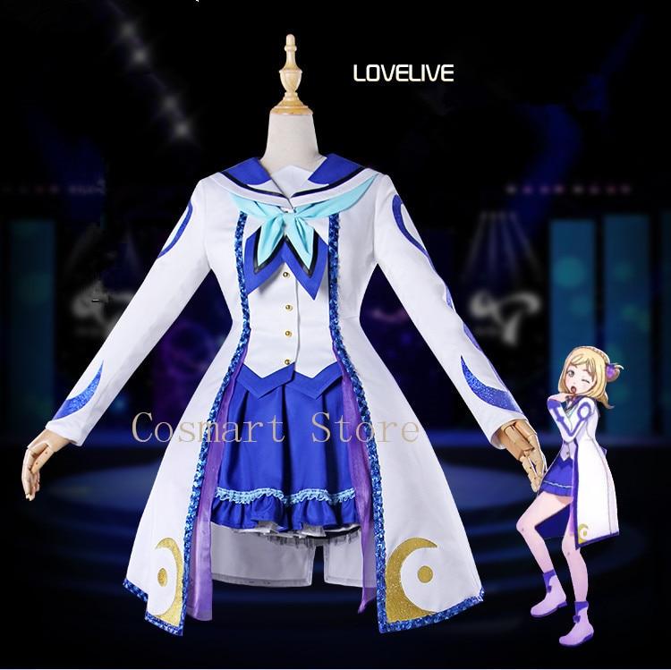 Anime Love Live! Sunshine!! Aqours Ohara Mari OP2 Stage Dress Cos Concert Uniforms Cosplay Costume Full set NEW
