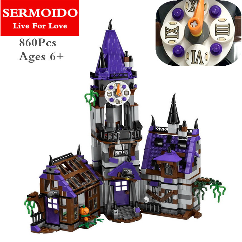 SERMOIDO Scooby Doo Mystery Mansion Buiding Blocks10432 Compatible With Lepine Educational Toy 75904 Model Building Sets B61 scooby doo team up