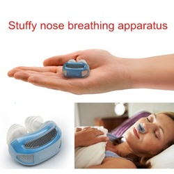 High-end Relieve Snoring Nose Snore Stopping Breathing Apparatus Guard Sleeping Aid Mini Snoring Device Anti Silicone