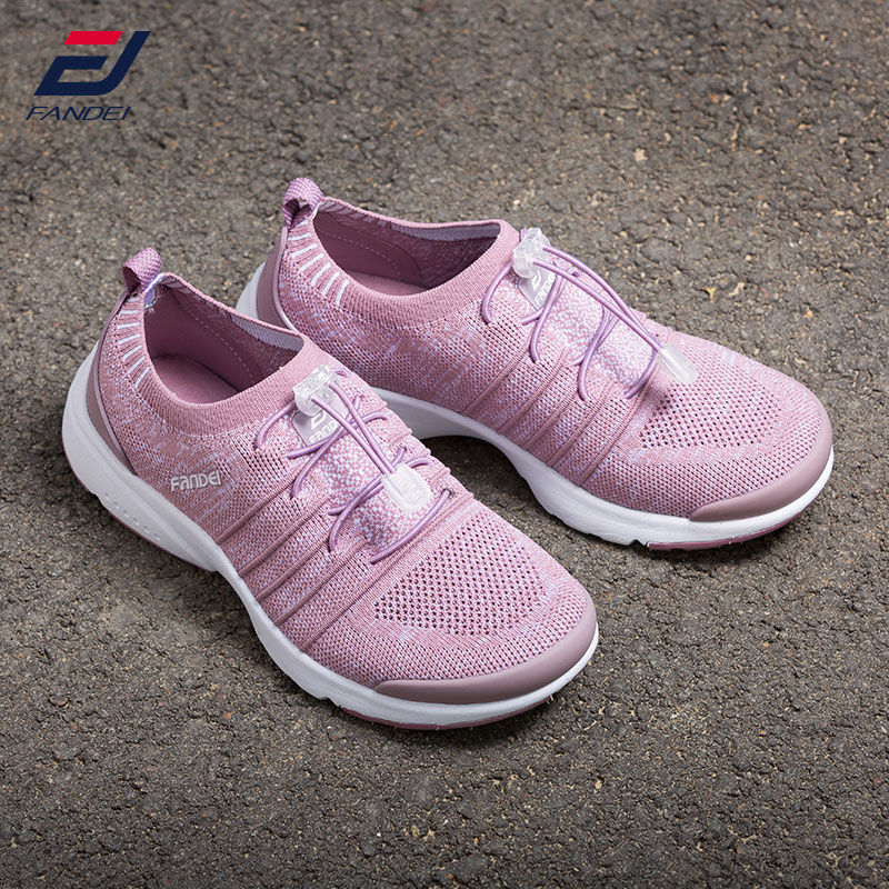 FANDEI new design running shoes for women sport shoes women brand sneakers zapatillas hombre deportiva breathable mesh lace-up camel shoes 2016 women outdoor running shoes new design sport shoes a61397620