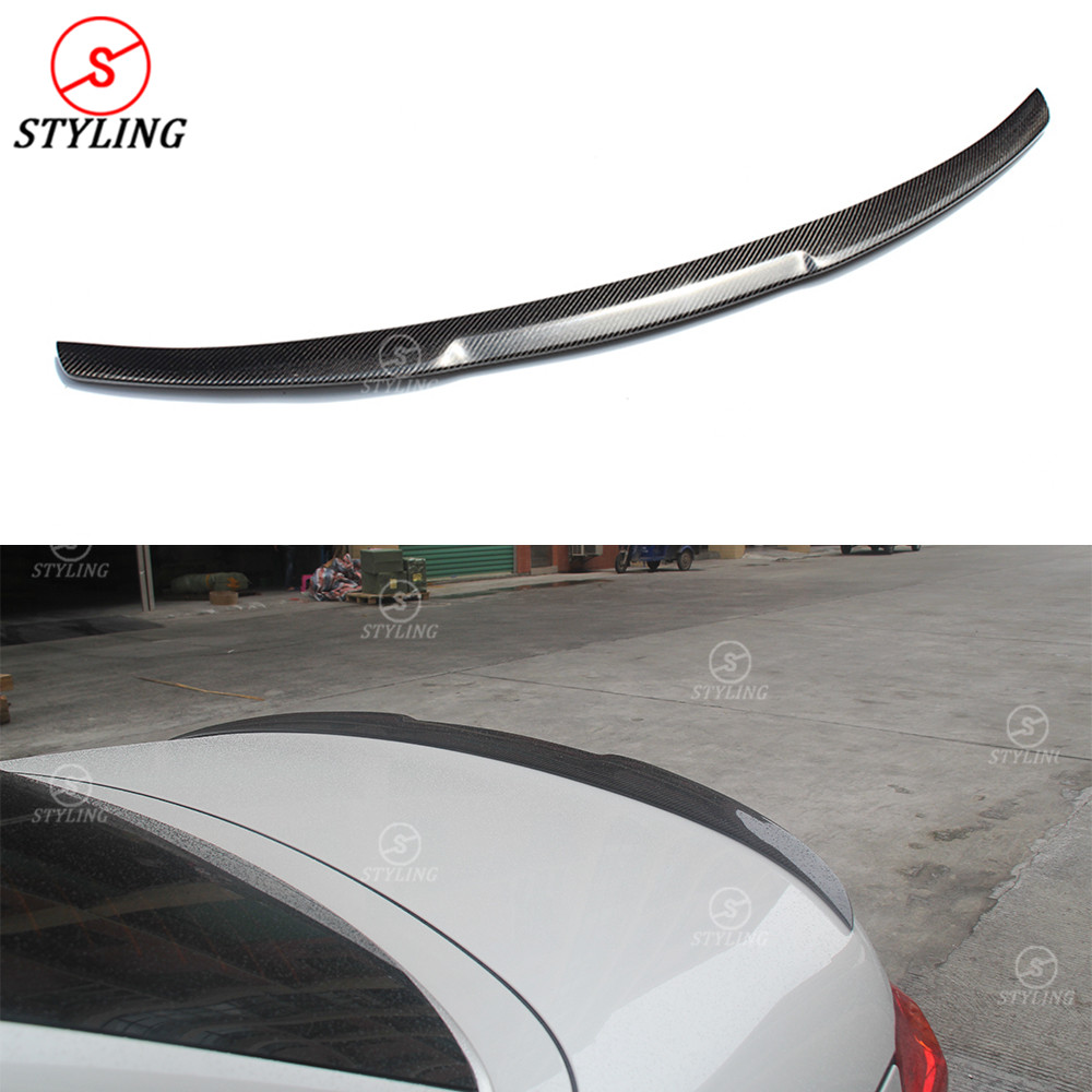 For BMW F33 Carbon Fiber Spoiler M4 Style 4 Series F33 & F83 M4 Convertible Carbon Fiber Rear trunk wing rear spoiler 2014 - UP montford carbon fiber exterior rear