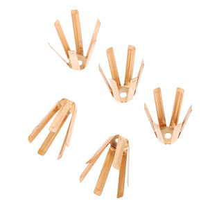 Image 4 - gohantee 50Pcs/100pcs Golf Brass Adapter Spacer Shims Model 0.335 And 0.350 24mm Fit For Golf Shafts Golf Club Heads Accessories